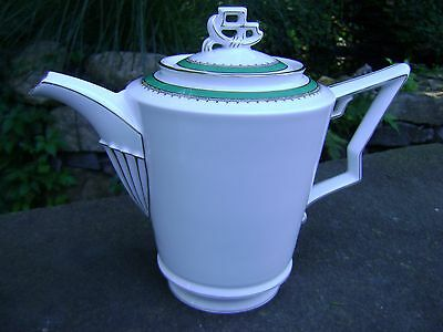 Antique ROSENTHAL SELB BAVARIA TIRANA TEA/COFFEE PITCHER with LID. Numbered.