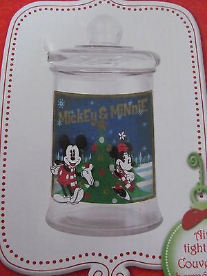 Disney Mickey and Minnie Mouse Cookie Jar 3 Litre New In Box