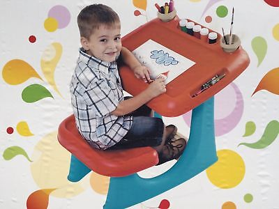 Sit and Draw Kids Children's Art Creative Desk Table and Chair by Keter