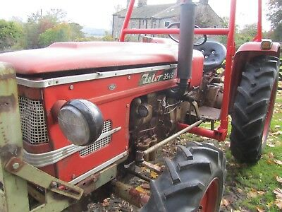 Zetor 3545 4 wheel drive tractor ideal smallholder or collector 1970