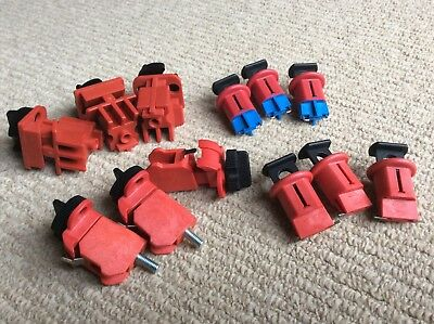 Brady Lock Out Tag Out Devices. LOTO. Circuit Breaker Lock Out. Bulk Lot.