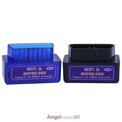 Super WiFi OBD2  Car Diagnostic Scanner Scan Tool for iOS Android Windows