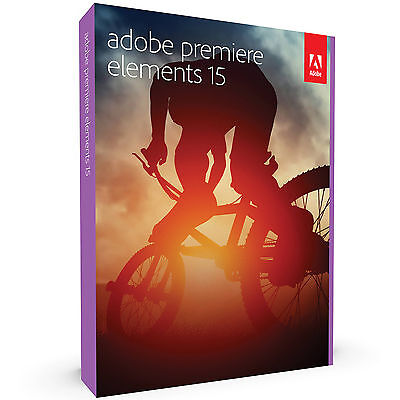 Adobe Premiere Elements 15 Win Mac Retail Pack With Dvd New