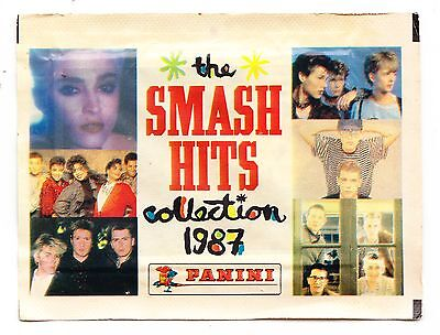 Panini: The Smash Hits Collection 1987...1 x Sealed Packet of Stickers: