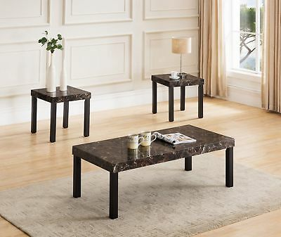 Winston Porter Litherland 3 Piece Coffee Table Set