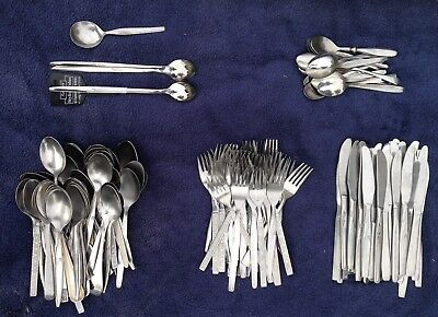Job Lot of 1970s Restaurant Grade Cutlery Inc Rayware Over 150 Peices