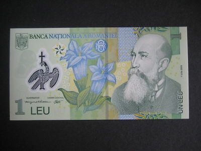 ROMANIA - 2005 NEW ISSUE - 1 LEU - P117a -  01.07.2005 - UNC POLYMER