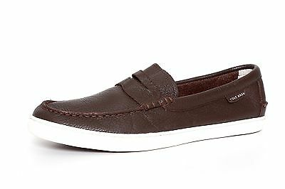 7230d83f9154 Cole Haan Men s Java Leather White Pinch Weekender Loafers 3382 Sz 10.5 M