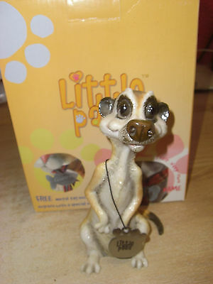 "LITTLE PAWS TOSCA the Meerkat 6"" Tall BOXED"
