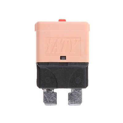 Universal Car Truck Mini Blade Style Fuses 28V 5A Manual Circuit Breaker