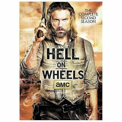 Hell on Wheels: The Complete Second Season 2 (DVD, 3-Disc Set) - NEW, SEALED