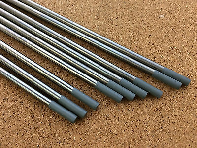 4mm x 150mm Grey Tungsten 2% Ce Ceriated AC / DC Tig Welding Electrode WC20