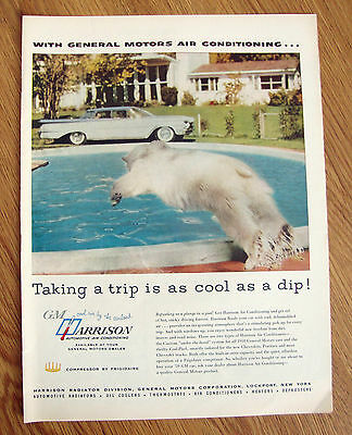 1959 Oldsmobile Ad    GM Harrison Air Conditioning