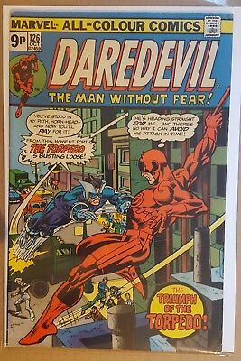 DAREDEVIL #126 to #130 ( 5 ISSUE RUN) 1ST SERIES 1975/1976 - MARVEL COMICS