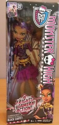 CLAWDEEN WOLF cinema FRIGHTS CAMERA ACTION poupée Monster high 2013 MATTEL BDF26