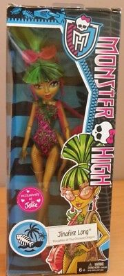 JINAFIRE LONG fille du dragon PLAGE BEACH poupée Monster high 2013 MATTEL CBX56