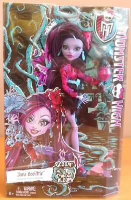 JANE BOOLITTLE Gloom and Bloom laboratoire poupée Monster high 2014 MATTEL CDC06