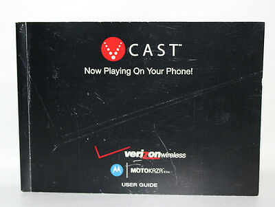 Vcast Verizon Wireless Motokrzr User Guide Sjjn7399B