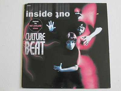"""Culture Beat - Inside Out (6x Remixes)  12"""" 33 Stereo Vinyl EP 1995 Epic Records"""