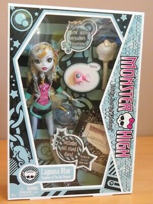 LAGOONA Diary 1r EDITION Neptuna aquarium journal Monster high 2009 Mattel P2673