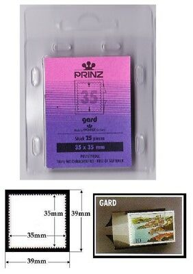 PRINZ Mounts GARD [Back opening] Clear Cut-To-Size 35 x 35