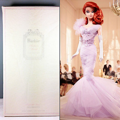 2015 Lavender Luxe Barbie Doll - BFMC Gold Label Silkstone - NRFB in Tissue