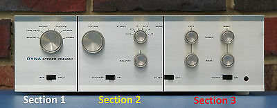 Dynaco PAS Volume, Blend, Balance, And Loudness Control Kit (c)
