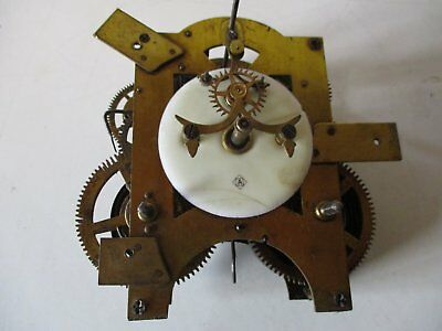 Ansonia  Clock Movement 8 Day For Spares Or Repair
