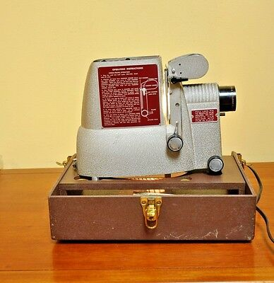 Vintage Bell and Howell Specialist 724, Multi-purpose for Filmstrips and Slides