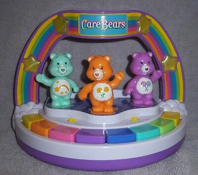 Care Bear 2004 Play Along Lights & Sound Musical Piano