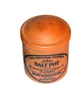 Henry Watson Pottery The Original Suffolk Salt Pot made in Terracotta
