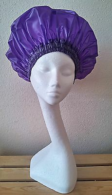 Unisex Purple Shower Cap