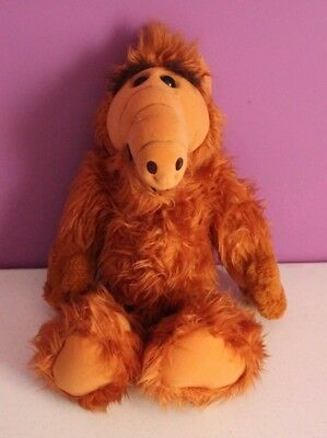 "Vtg 1986 Alf Plush Doll Alien Productions 18"" Coleco Stuffed Animal Tv Show   #1"