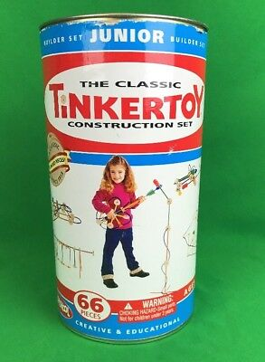 Tinkertoy the classic construction set