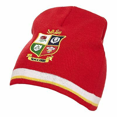 Official British & Irish Lions NZ 2017 Tour Red Beanie Hat,Size Adult @ £9.75p !