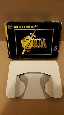 n64 -  zelda ocarina of time - empty box only