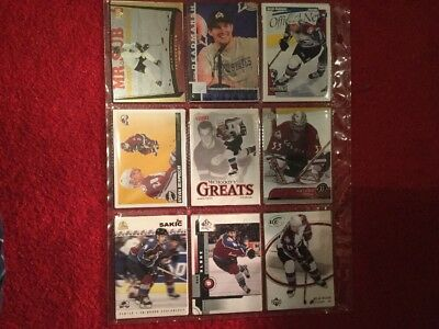 Colorado Avalanche, NHL Trading Cards