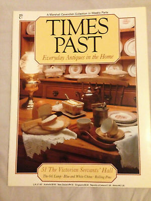 The Victorian Servants' Hall -  Antique / Collectables Magazine