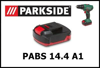 Bateria taladro Parkside 14.4v Li Battery Drill Screwdriver PABS 14.4 Li A1