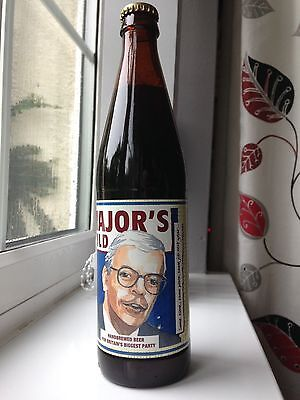 Major's Mild Election Ale - Collectors Bottle From The Late 90's Tory Party