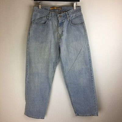 a482b2a5 Levis SilverTab Jeans - Baggy Light Wash - Tag Size 29x30 (29x29) - #