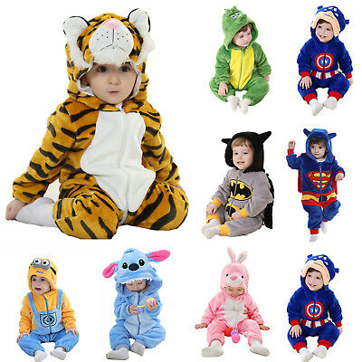 Baby Boy Girl Winter Halloween Fancy Dress Party Costume Animal Cosplay Outfits
