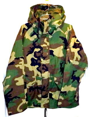 NEW US Military Issue Parka Cold Weather Camo MEDIUM-SHORT