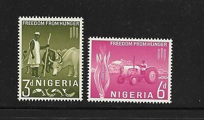 Nigeria 1963 FAO freedom from Hunger campaign MNH