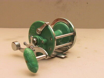 Penn Monofil Model 26 Saltwater  Reel/made In Usa/rare Green Color/look!!!!!!!!!