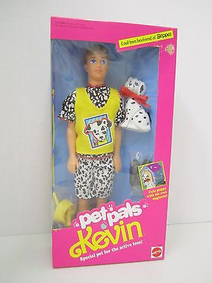 PET PALS KEVIN with Dalmation Puppy - 1991 Mattel #2711 -
