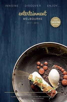 NEW 2017/2018 Melbourne Entertainment Book Vouchers For Sale - $2 Each!
