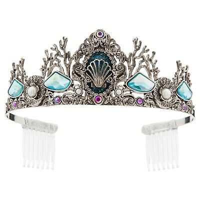 DISNEY Store COSTUME Jewelry TIARA for Kids ARIEL on Card NEW