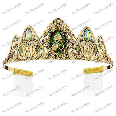 DISNEY Store COSTUME Jewelry TIARA for Kids TIANA on Card NEW