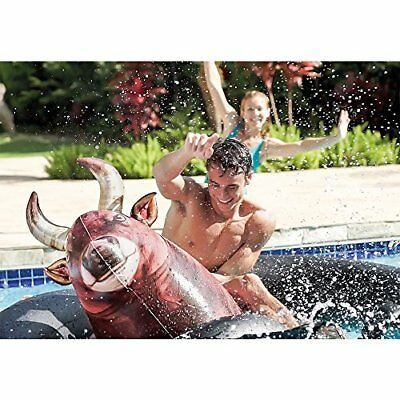 Intex Bull Inflatable Pool Riding Float Party Toy Water Fun Rodeo Competitions